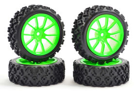 Fastrax 1/10 Street / Rally Tyre 10SP (4)