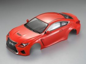 Killerbody Lexus RC Finished Body (Orange) (190mm)