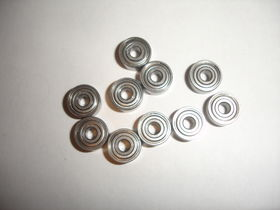 EuroRc 5x14x5 605ZZ Ball Bearings (10)