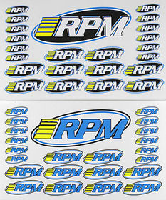 RPM Decal Sheet