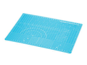 Tamiya Cutting Mat - A4 size - Blue