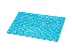 Tamiya Cutting Mat - A5 size - Blue