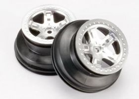 "Traxxas Wheels SCT 2.2/3.0"" Krom 4WD/2WD Rear (2)"