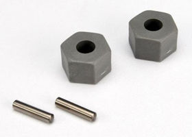 Traxxas Hex Wheel Hubs (tall Offset) / Axle Pins