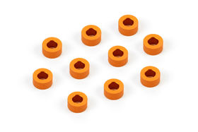 Xray Alu Shim 3x6x3.0mm - Orange (10)