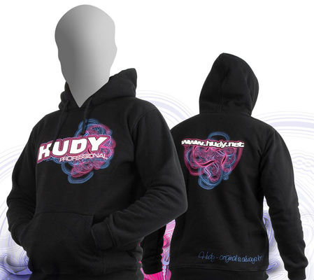 HUDY Sweater Hooded - Black (XL)