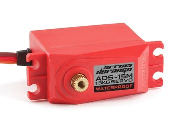 Arrma Servo ADS-15M V2 15kg Sealed Red
