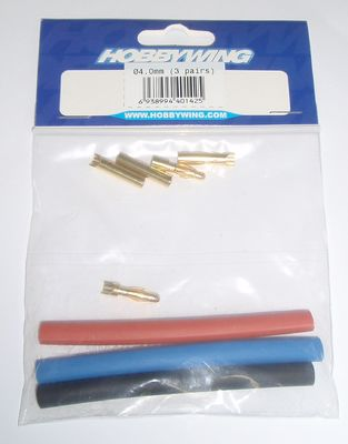 Hobbywing 4mm Bullet Connector (3)