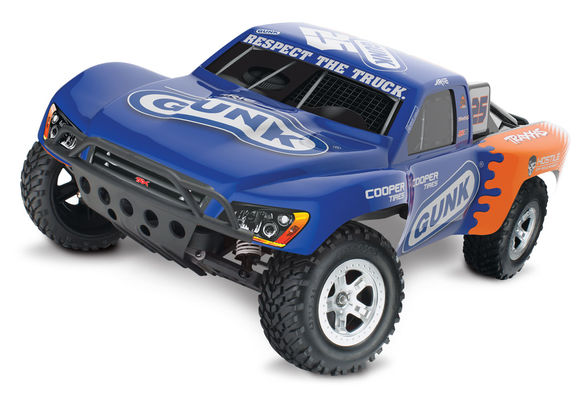 Traxxas Slash 1:10 Scale RTR Electric 2WD Short-Course Truck - Luyendyk Jr. Edition Gunk #25 - 12V DC Laturi