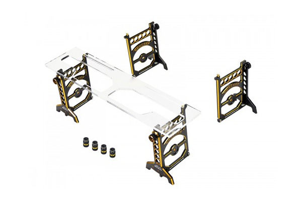 Arrowmax Set-Up System For 1/10 Touring Cars With Bag Limited Edition