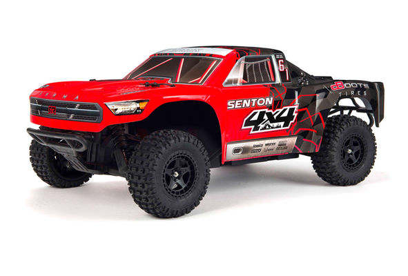 ARRMA Senton 4X4 Mega Brushed Short Course Truck Red 1:10 RTR