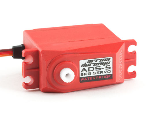 Arrma RC ADS-5 V2 5kg Waterproof Servo (Red)