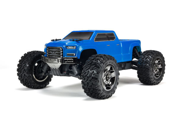 ARRMA Big Rock Crew Cab 4X4 3S BLX Brushless Monster Truck Blue 1:10 RTR