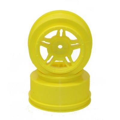"Louise MAX 2.2""/3.0"" Yellow Rim (For Slash Rear, Slash 4x4 F/R, F/R & Blitz F/R) (2)"