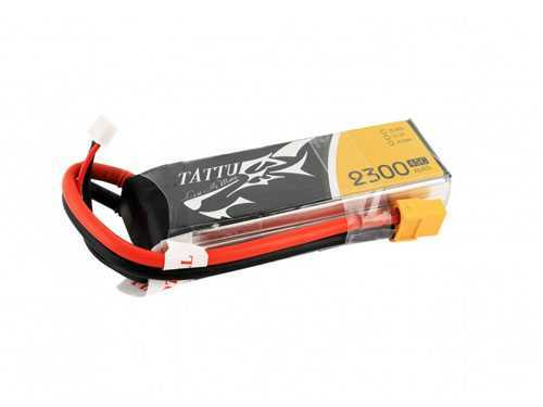 TATTU 2300mAh 11.1V 45C 3S1P Lipo Battery Pack