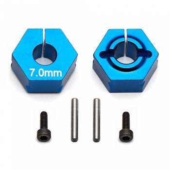 Team Associated B5/B6 Clamping Wheel Hex - 7.0mm