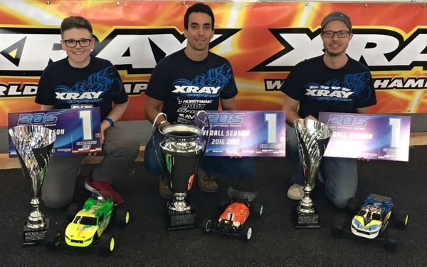 XRAY XB4 & XT2 are your Euro Offroad Series 2016/2017 Champions