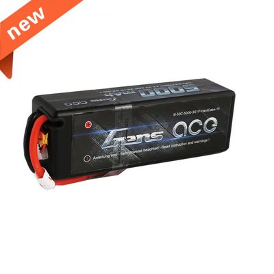 Gens ace 5000mAh 11.1V 50C 3S1P Hard Case Lipo Battery Pack