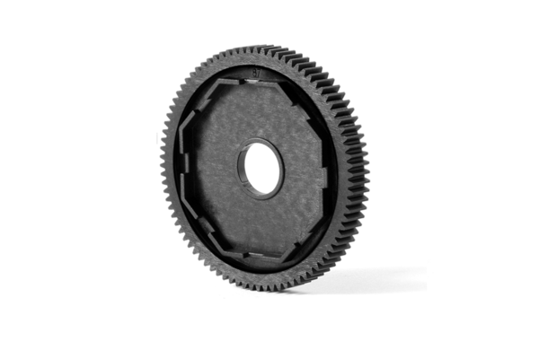 Xray Composite 3-Pad Slipper Clutch 48dp Spur Gear - 87T