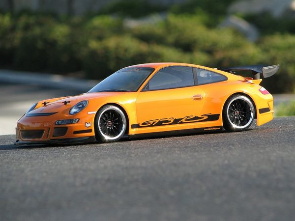 HPI-Racing Porsche 911 Gt3 Rs Clear Body (200mm)