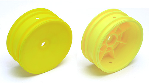 Team Associated 2WD Buggy Front Wheel Hex Type (Yellow) (2)