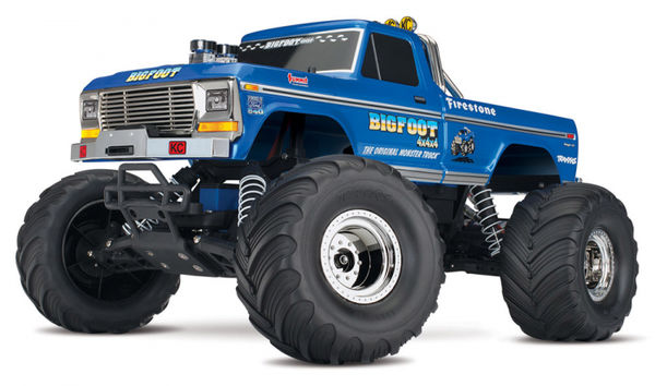 Traxxas BIGFOOT No.1 Monster Truck 1:10 - Ajovalmis